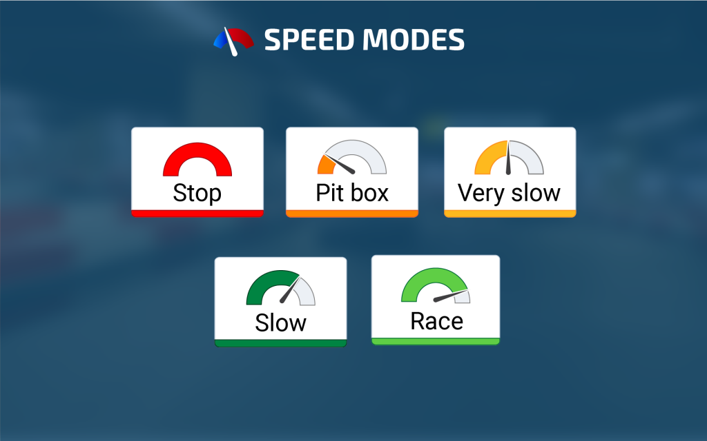 RaceSafety_Speed_modes_Software